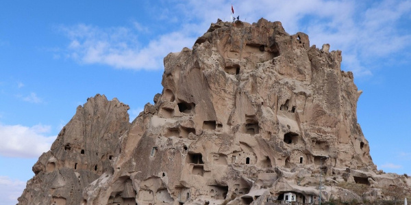 Dünyanın en yüksek peribacası; Uçhisar Kalesine ziyaretçi akını