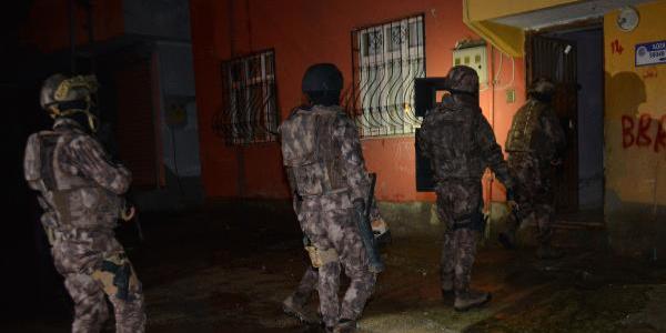 Adana'da hava destekli PKK/KCK operasyonu