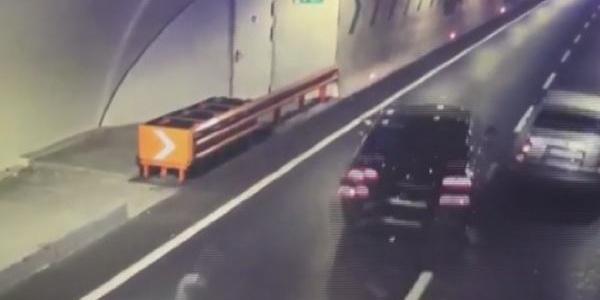 Avrasya Tüneli'nde kaza