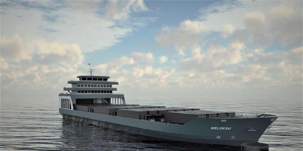 Doğu Karadeniz'in en büyük çelik gemisi