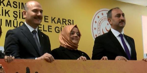 Soylu: HDP'lilerin kadına şiddeti gündeme getirdiğini gördünüz mü? Göremezsiniz, patronları kızar