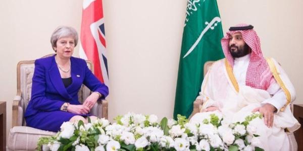 Veliaht Prens, İngiltere Başbakanı Theresa May ile görüştü