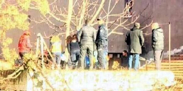 Polisten kaçan şüpheli su kuyusuna düştü