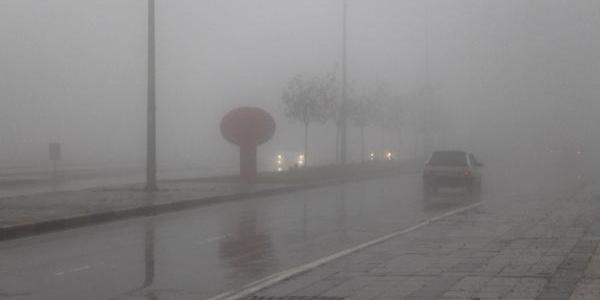 Gaziantep'te 'yoğun sis' görüş mesafesini düşürdü