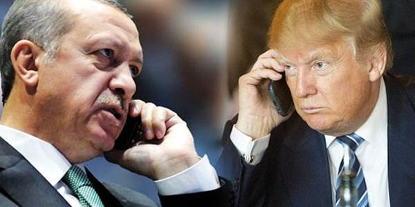 Cumhurbaşkanı Erdoğan ve ABD Başkanı Trump arasında kritik görüşme