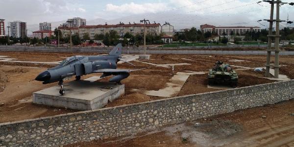 Beylerderesi Şehir Parkı içerisinde yer alacak  savaş müzesi hazırlıkları sürüyor