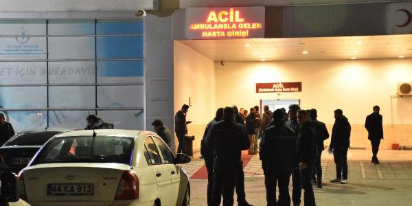 Malatya'da iki grup arasında silahlı kavga çıktı, 2 kişi yaralandı
