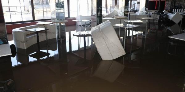 Dicle Barajı'nın kırılan kapağının yükselttiği sular çekildi, zarar ortaya çıktı