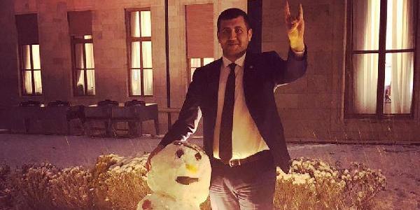 MHP Kayseri Milletvekili Baki Ersoy: 'Ülkücü kardan adam ile birlikteyiz'
