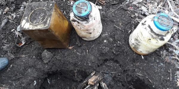 Bitlis'te, terör örgütü PKK'ya ait 3 sığınak bulundu