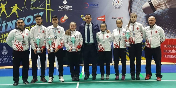Milli badmintonculardan yeni bir başarı daha