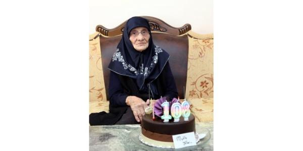 108 yaşında Ayişe ninenin doğum günü ilk kez kutlandı