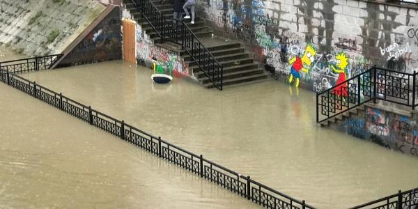Aşırı yağışlar nedeniyle Asi Nehri'nde su seviyesi yükseldi