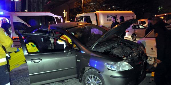 Ankara'da 2 ayrı kazada 2 kişi yaralandı