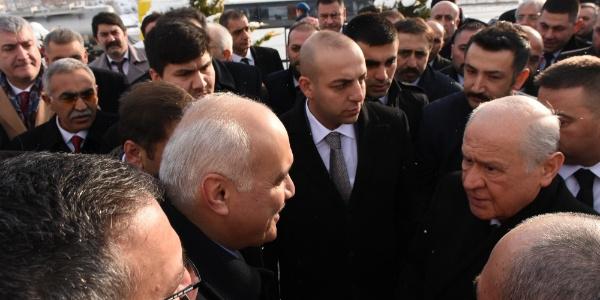 Devlet Bahçeli, Ülkücü Şehitler Anıtı'nı ziyaret etti