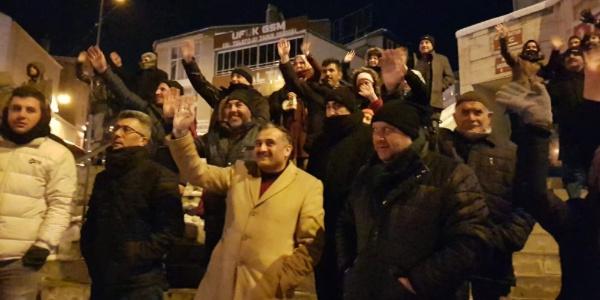 Başkan Mahmet Cabbar, umreye giden vatandaşları uğurladı
