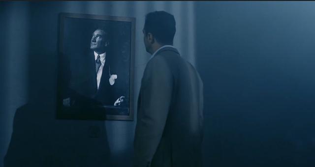 Börü ilk bölüm Atatürk sahnesi ile sosyal medyayı salladı! Herkes o sahneyi konuşuyor