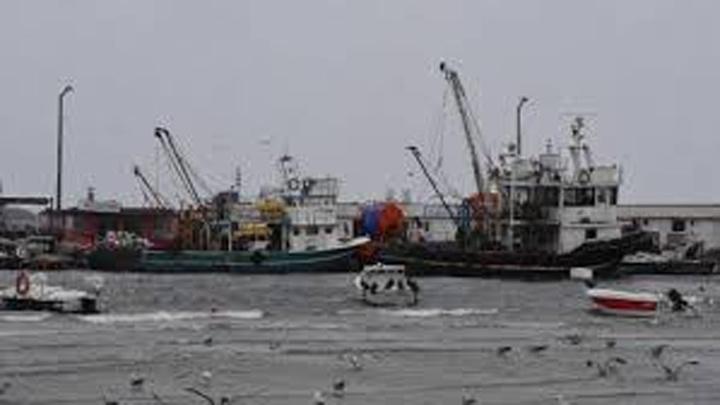 Tekirdağ'da kar ve fırtına nedeniyle deniz ulaşımı durdu