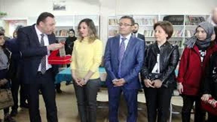 ODTÜ'deki kazada hayatını kaybeden İrem Kütük'ün ismi Alaşehir'de kütüphaneye verildi