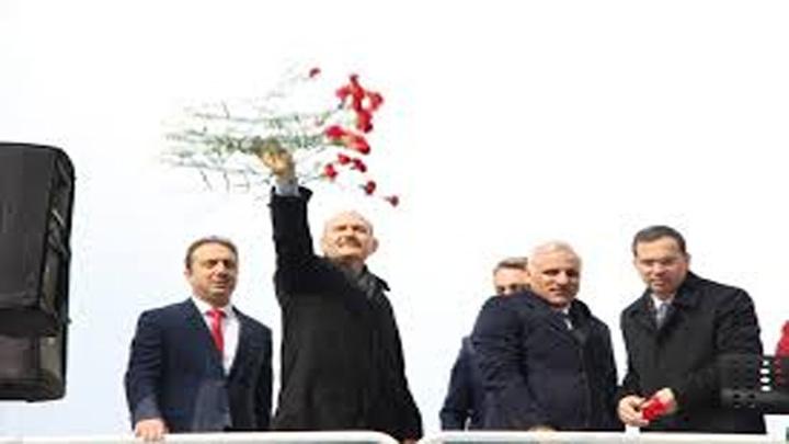 """Bakan Soylu: """"Kılıçdaroğlu'nun Ankara Büyükşehir Belediyesine adım atacağı, zafer naralarıyla içeriye gireceği fotoğrafı hazmedemiyorum"""""""
