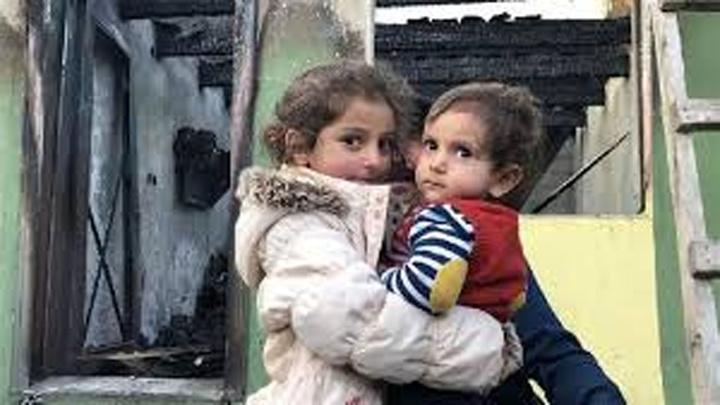 4 yaşındaki Ceren, kardeşini alevlerin arasından kurtardı