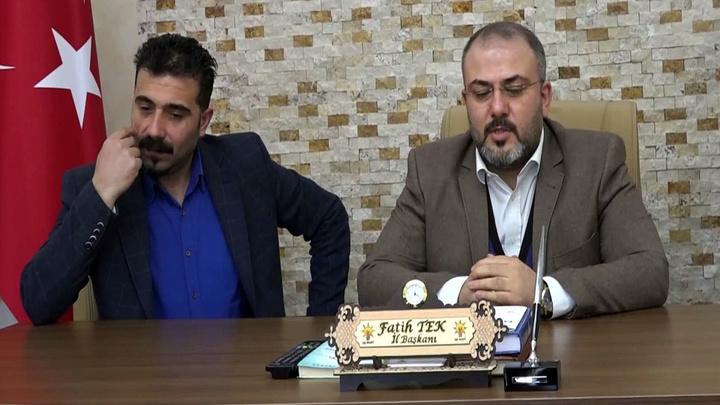 """AK Parti Tunceli il Başkanı'ndan, Ağbaba'ya """"Eliniz kırılsın"""" tepkisi"""