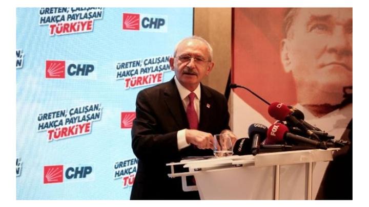 """Kemal Kılıçdaroğlu, """"Üreten, çalışan, hakça, paylaşan Türkiye"""" toplantısında konuştu"""