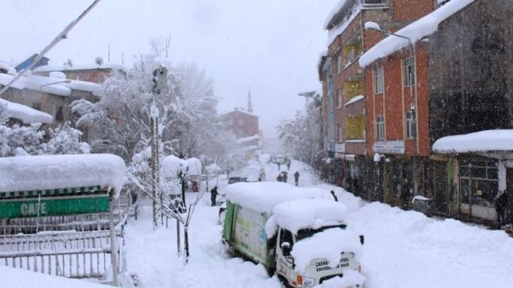 Kırklareli'de bir ilçede daha eğitime kar engeli