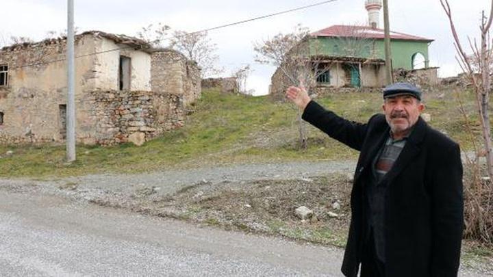 Seçim öncesi Avdan köyünün nüfusu 5'ten 35'e çıktı