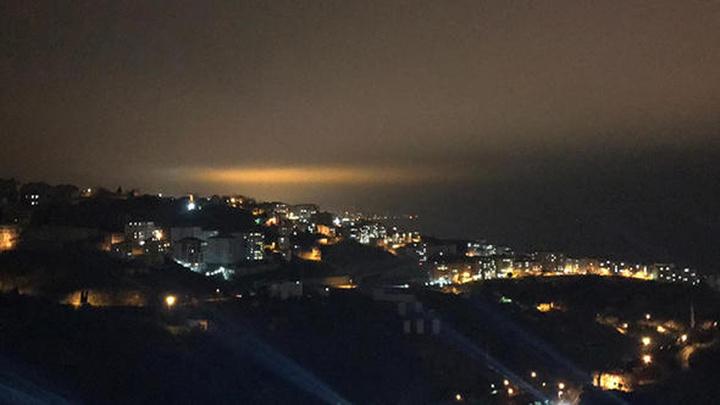 Trabzon'da dün gece gökyüzünde ortaya çıkan esrarengiz ışığın kaynağı ne?