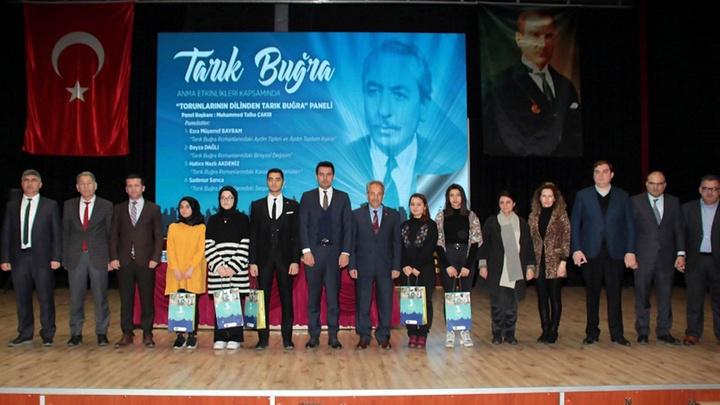 Akşehir Belediyesi ünlü yazar Tarık Buğra'yı andı