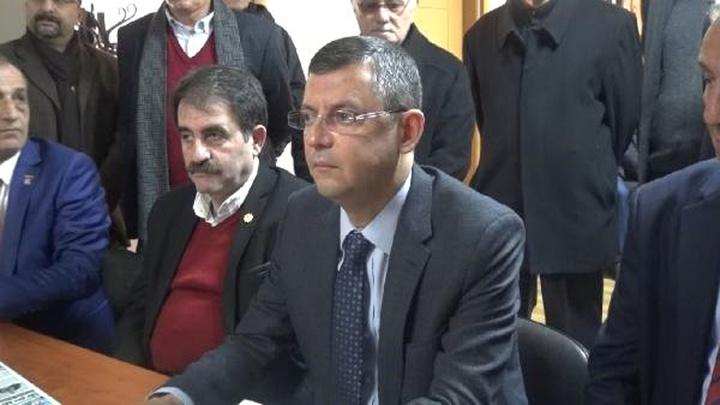 CHP'li Özgür Özel: Umut siyaseti yerine korku siyaseti yapıyorlar