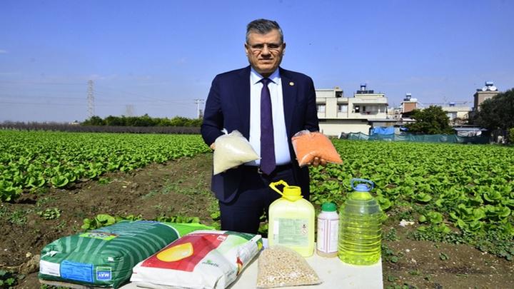 CHP Adana Milletvekili Barut: Üreticiye destek için mazot, gübre fiyatlarını düşürün