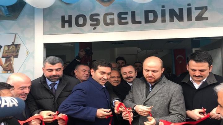 Bilal Erdoğan, Midyat'ta TÜGVA'nın açılışını yaptı