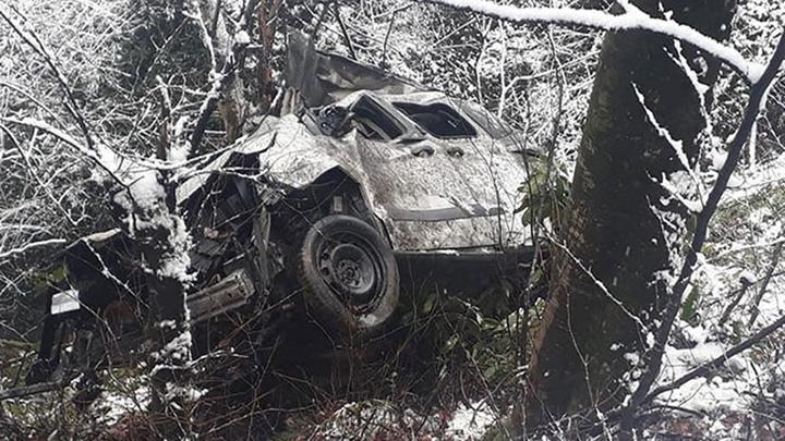 Ordu'da bir araç uçuruma yuvarlandı: 3 ölü