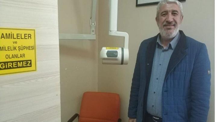 Kütahya Hisarcık İlçe Hastanesi'nde diş röntgen cihazı hizmete girdi