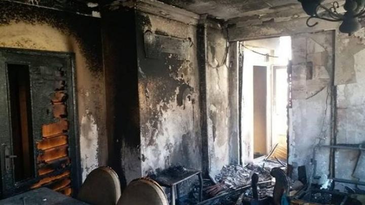 Alanya'da 4 katlı apartmanın ikinci katında yangın çıktı