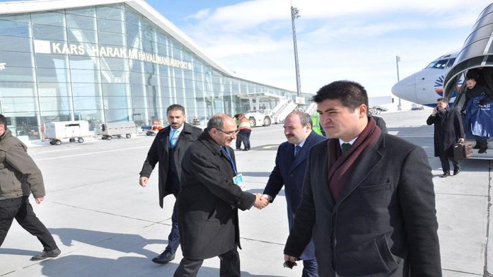 Sanayi Ve Teknoloji Bakanı Mustafa Varank Kars'ta