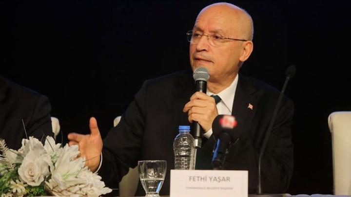 Yenimahallle Belediye Başkanı  Fethi Yaşar Şentepe sakinleriyle buluştu