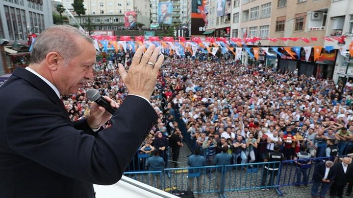 Cumhurbaşkanı Recep Tayyip Erdoğan, memleketi Rize'de hemşehrileriyle buluştu