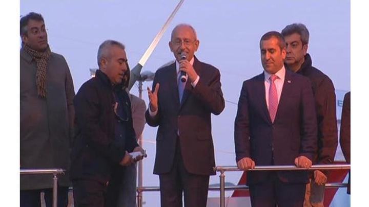 CHP Genel Başkanı Kemal Kılıçdaroğlu Sancaktepe'de mitinge katıldı