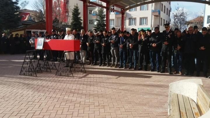 Kırşehir'li Uzman Onbaşı Özgür Küçük, son yolculuğuna uğurlandı