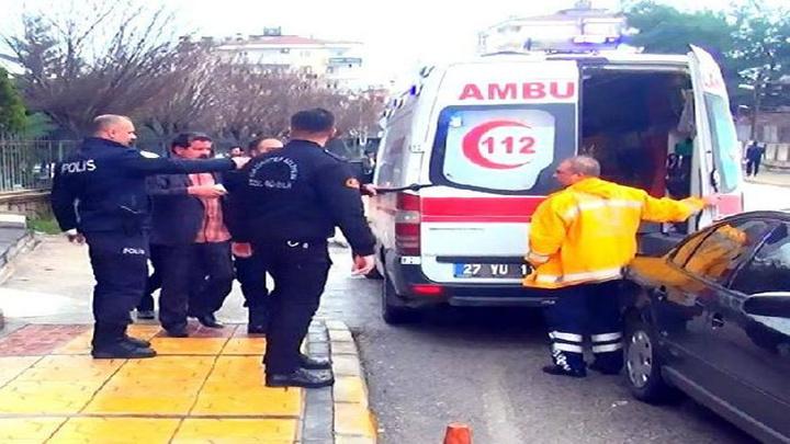 Gaziantep'te adliye önünde kavga:5 yaralı, 10 gözaltı