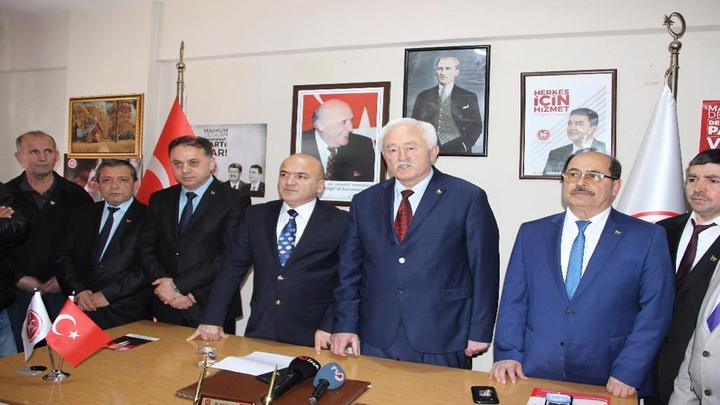 Düzce'de Demokrat Parti Başkan adayı kalp krizi geçirdi, yerine Veteriner Hekim Yusuf Kadıoğlu aday oldu