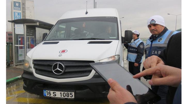 Bursa'da zabıtalar kameralı denetim sistemine başladı