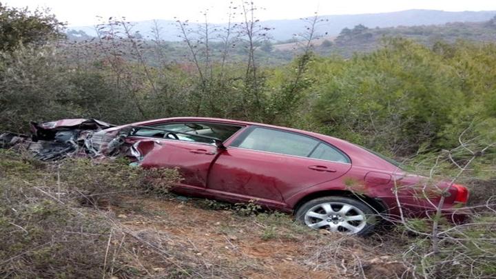 Bilecik'te tır otomobile çarptı, 2 kişi yaralandı