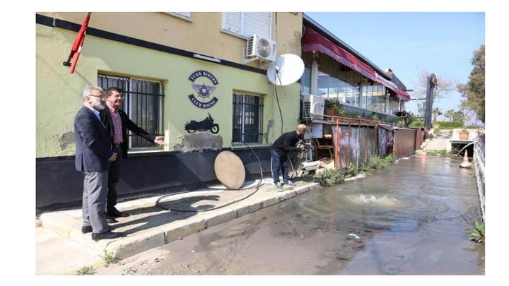 Nihat Zeybekci, İnciraltı'nda iş yeri ziyaretinde gözlerine inanmadı