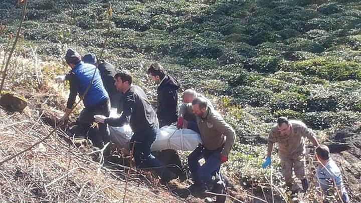 Trabzon'da çay bahçesinde kendi yaktığı ateş sonu oldu