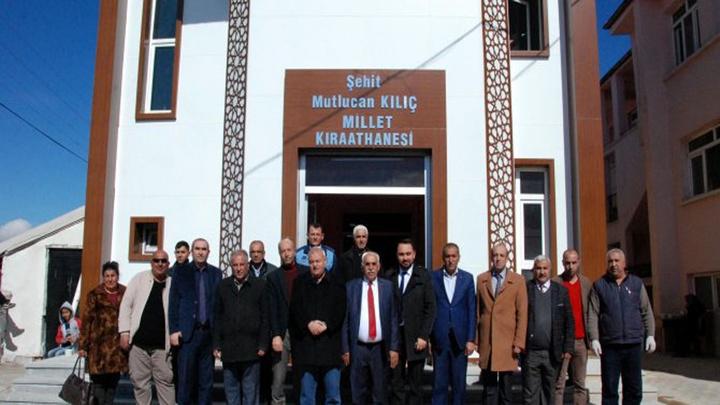 Ankara'daki Millet Kıraathanesi'ne 15 Temmuz'un en genç şehidinin adı verildi