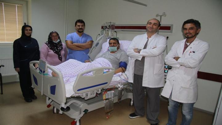 TSK uçağı Rize'den Isparta'ya taşıdığı karaciğer ile hayata döndü